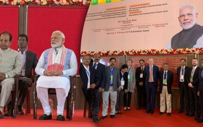 Foundation stone laid for the bio-refinery in Assam, India