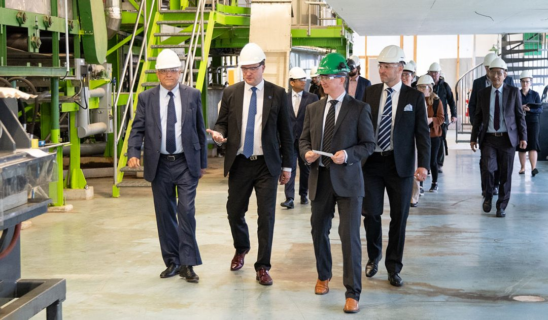 Finnish Minister for Foreign Trade and Development visits Chempolis