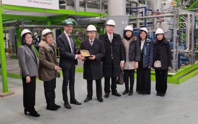 High-level Thai delegates visited Chempolis Biorefinery Park